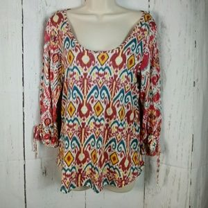 Lucky Brand m Featherweight Scoop Neck Top